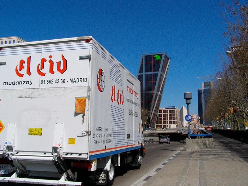 madrid mudanzas y traslados en Madrid